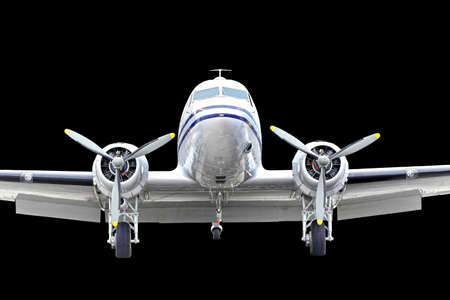 Vintage DC3 Dakota built by Donald Douglas Editorial