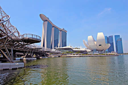 SINGAPORE - APRIL 23   Marina Bay Sands is billed as the world