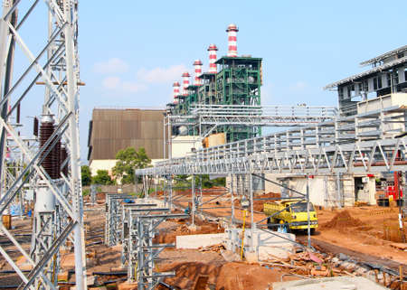 Industrial Construction Power Plant