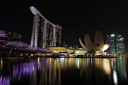 SINGAPORE - MAY 14   Marina Bay Sands is billed as the world