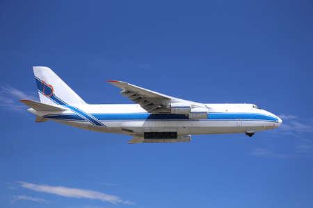 heavy cargo air transportation plane