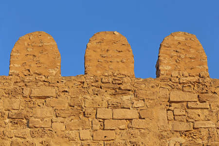 fortified: Old fortified walls of the Sousse Medina