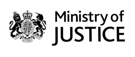 qui: LONDON, UK OCTOBER 12, 2013  The Ministry of Justice and Royal Coat of Arms