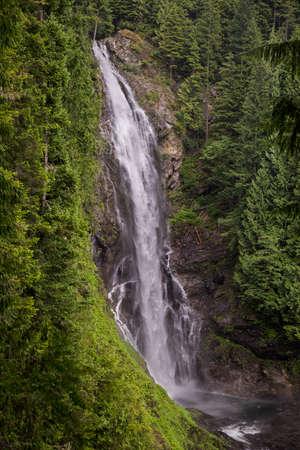 wallace: Wallace Falls, Washington State