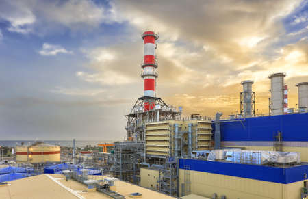 factory power generation: Nice HDR of a Power Plant