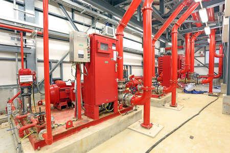 voiture de pompiers: La station de pompe � incendie