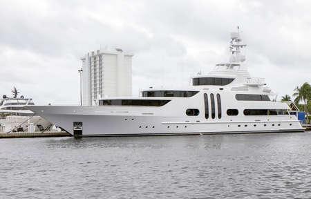 pleasure craft: Luxury Yacht in Fort Lauderdale, Florida