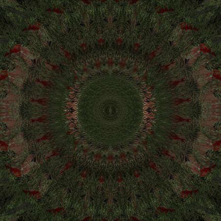kaleidoscope: Unique abstract kaleidoscope background design. Stock Photo