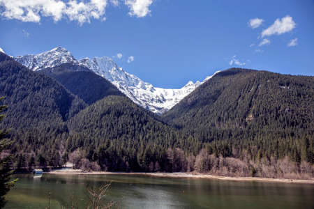 Ross Dam in the North Cascade Mountains, Washington