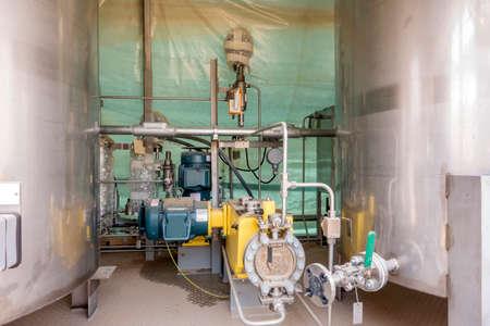 metering: Chemical metering pump Stock Photo