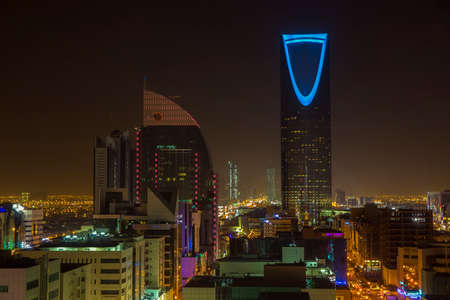 Riyadh at night