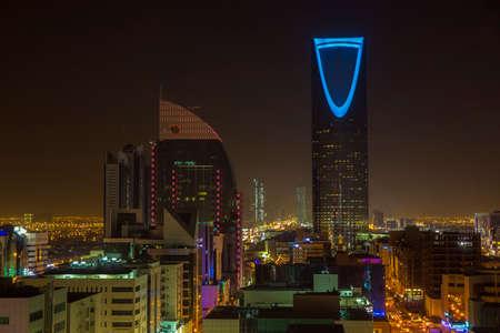 Riyadh at night