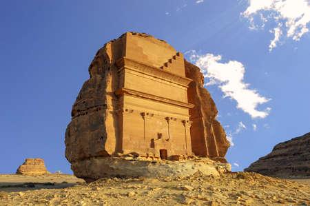 Mada'in Saleh, Al Ula, KSA Standard-Bild