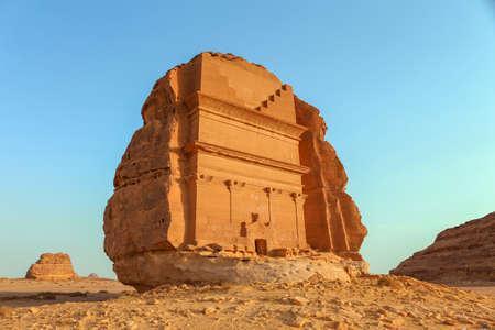 Mada'in Saleh, Al Ula, KSA 스톡 콘텐츠