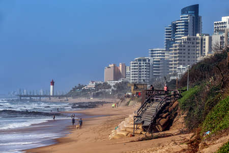 Umhlanga Rocks, North Coast, Kwazulu Natal, South Africa 免版税图像