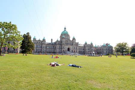 Victoria, BC, Canada - July 06, 2012: The Legislative Assembly of British Columbia