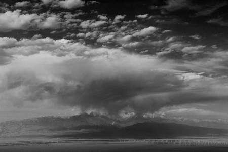 xinjiang: Bogda peak, Xinjiang Stock Photo