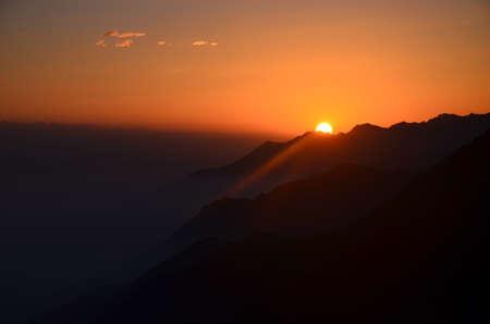 xinjiang: Xinjiang Nanshan Sunrise