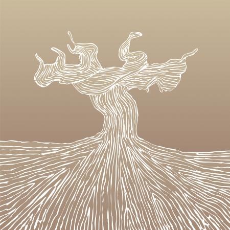 Grapevine romp illustratie Vector Illustratie