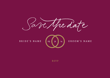 the date: Hand-written Save the Date  EPS vector file  Hi res JPEG included