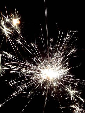 splendid: Splendid fireworks Stock Photo