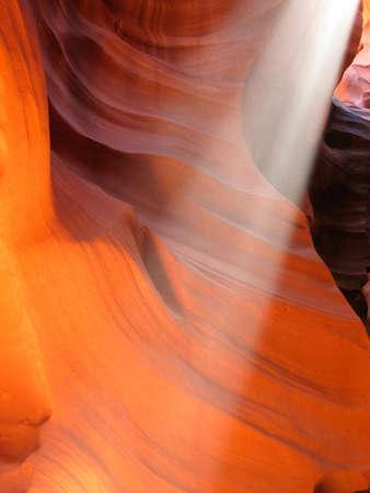 Magic Sunbeam in Upper Antelope Canyon