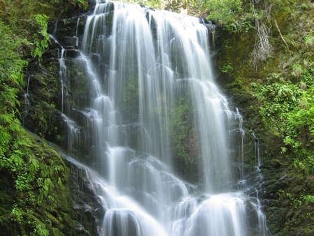 Spectacular Waterfalls in North California photo