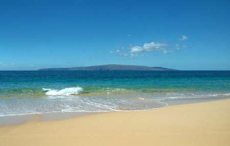 immaculate: Inmaculada Arena Beach en Maui Foto de archivo