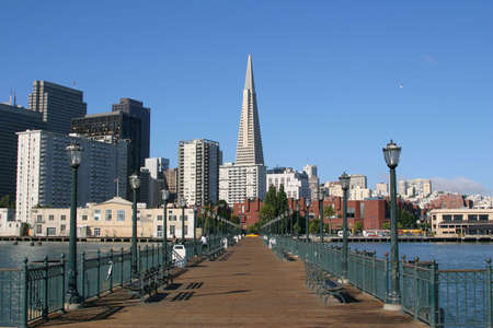 frisco: View from Pier 7, San Francisco. Editorial