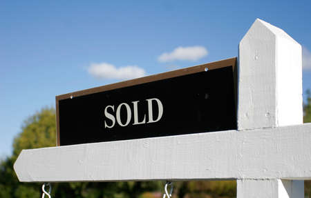 idealistic: House is Sold Stock Photo