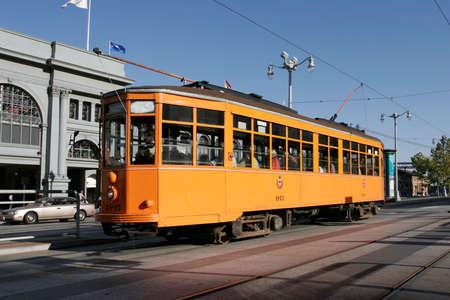 streetcar: Peter Witt Streetcar from Milan, Italy in regular service