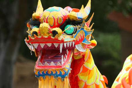 Dancing Dragon at Chinese New Year Parade