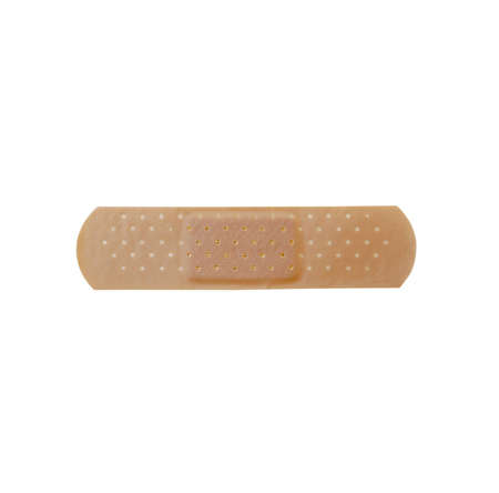 gouge: Bandage isolated on pure white background