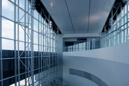 symetry: Futuristic Architecture in newly opened airport