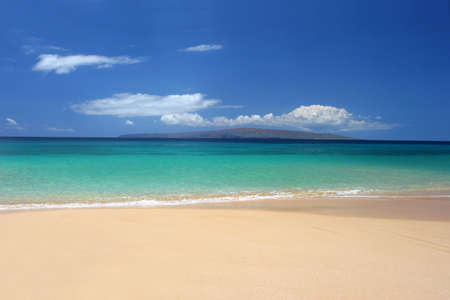 laze: Immaculate beach in Maui