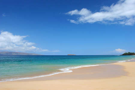 Immaculate beach in Maui
