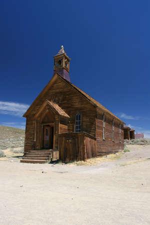 bodie: Church in Bodie, Ghost Town, California