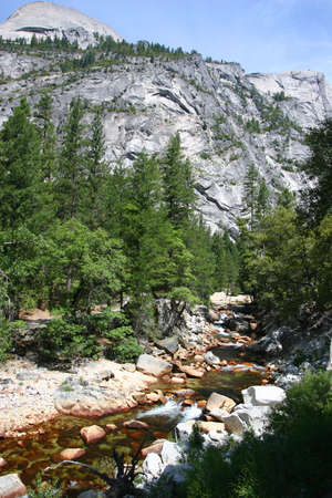 merced: Merced River going to Mirror Lake in Yosemite