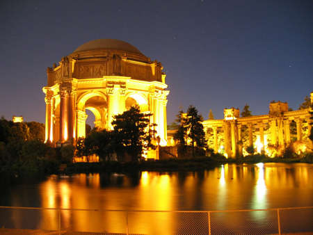 sf: Palace of Fine Art in San Francisco Stock Photo