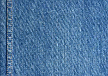 Jeans texture with stitch 写真素材