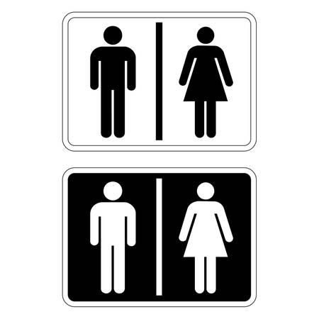 Toilet Sign Stock Vector - 4588902