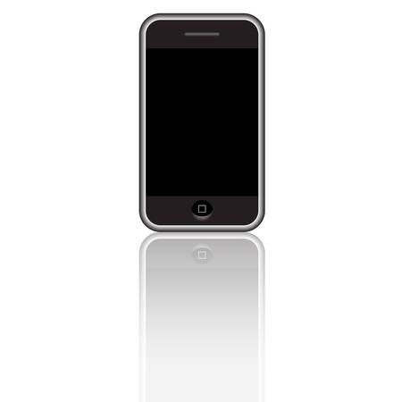Modern Cell Phone Stock Vector - 4588915