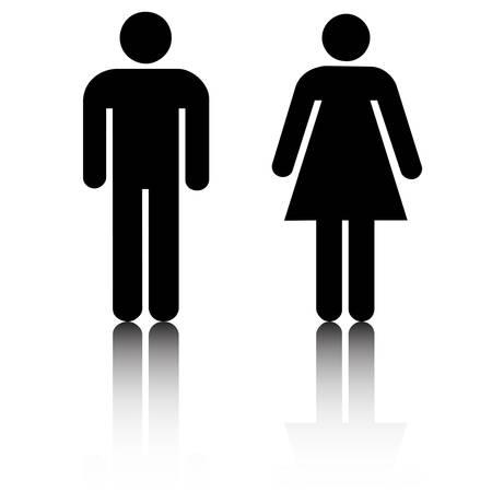 Homme et Femme Banque d'images - 4588914