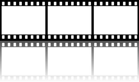 Seamless Film Strip con lucida riflessione Archivio Fotografico - 4700615
