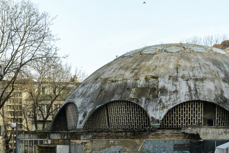 old abandoned dome in varna, Bulgaria