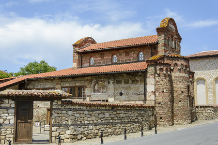The old church saint Stephen in the city of Nessebar, Bulgaria.