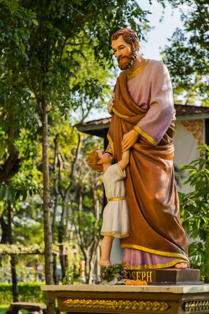 jesus statue: Jesus statue Stock Photo