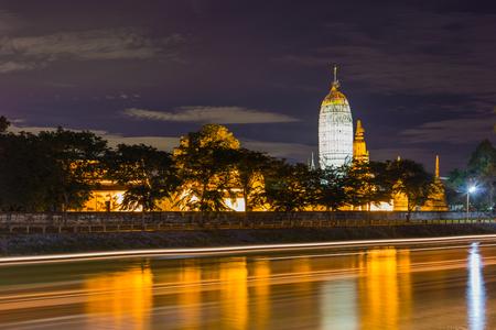 Temple Putthaisawan in Ayutthaya