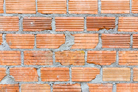 Terra cotta bricks wall, good for construction background