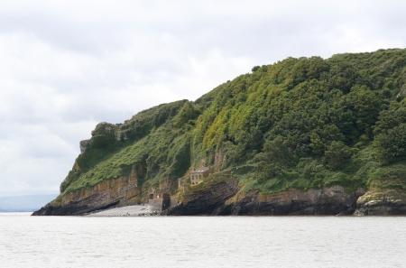 Steepholm island is a nature reserve for marine birds just off of Weston Super Mare in the Bristol channel which is between South Wales and the county of Somerset